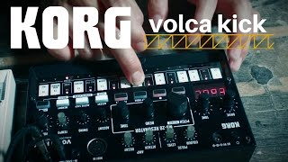 KORG Volca Kick - Video