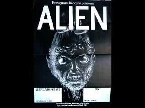 NWOBHM Alien online metal music video by ALIEN