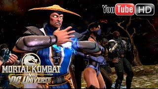 Mortal Kombat VS DC Universe [Xbox 360] - ✪ Chapter 7 ✪ | Raiden | Full HD