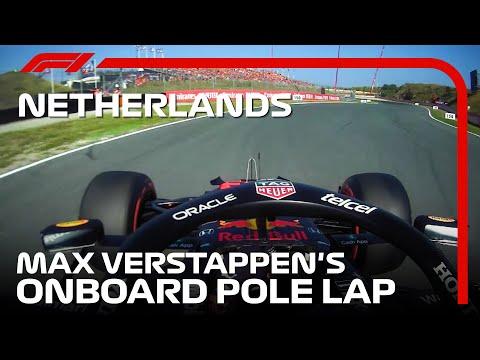 マックス・フェルスタッペンのポール・ポジションを獲得した最速ラップのオンボード映像 F1 第13戦オランダGP(ザントフォールト)