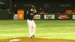 福岡ソフトバンクホークスジェイソン・スタンリッジ投球フォームスローモーション