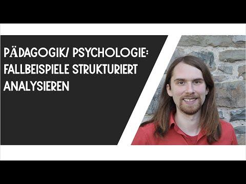 Fallbeispiele strukturiert analysieren (Pädagogik, Psychologie, etc.)