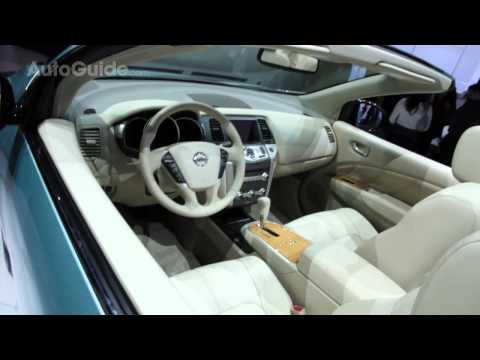 2010 LA Auto Show: Nissan Murano CrossCabriolet