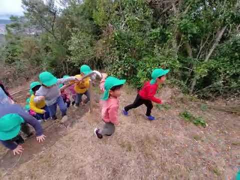 口之津町富士山やまのぼり:南島原市加津佐町 若木保育園