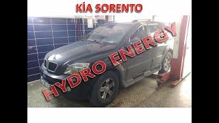 Kia Sorento 2.5 dizel hidrojen yakıt sistem montajı