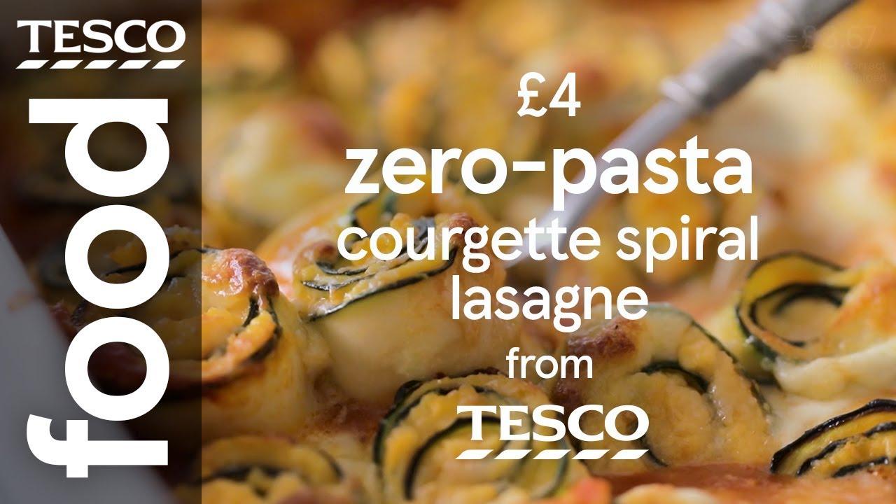 Veggie courgette lasagne