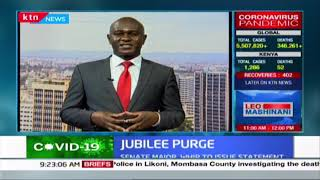 Senate Majority Whip set to issue statement as Jubilee purge continues