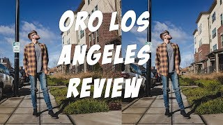 ORO LOS ANGELES, HOT OR NOT? | Chelsea Boots, Denim, Jeans, Flannels, Unboxing, On-Feet, Look Book