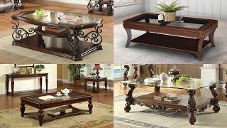 Super Glass Sofa Table !!! 👌👌👌  Most Beautiful Center Table Ideas 🌺🌹💐