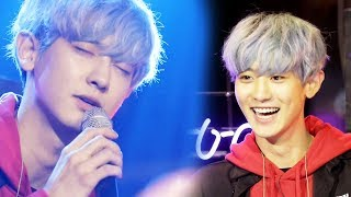 """Chanyeol, a heartfelt song to fans """"Hold me"""" @Jinyoung Park's party people episode 10 20170930"""