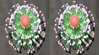 Best Out Of Waste Plastic Bottle Flower Vase Craft Idea Diy Art And