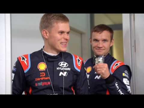 Ott Tänak - Hyundai Motorsport GmbH visit