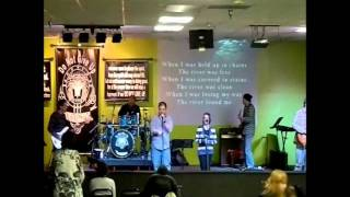 The River - Chris Tomlin cover 1-22-12