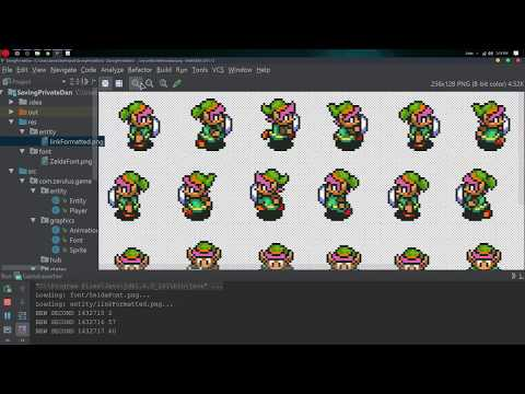 Java 2D Game Programming Episode 11 - Animating the Player