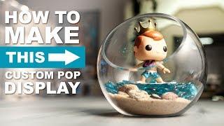 $20 Custom Funko Pop Display - HOW TO