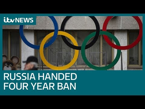 Russia banned from world sport for next four years | ITV News