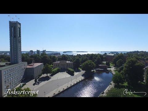 Västerås från ovan: Västerås City