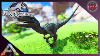BLUE IS ALIVE AND IN THE PARK !!   ARK SURVIVAL EVOLVED [JURASSIC PARK MOD EP34]