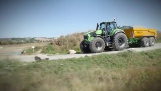 TTV - Conduite d'un tracteur Deutz Fahr en mode automatique TTV au transport