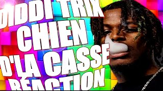 DIDDI TRIX   CHIEN D'LA CASSE (Clip Officiel) | REACTION | FRENCH RAP REACTION