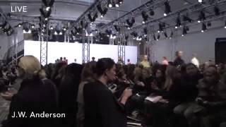 J W Anderson Final Walk at LFW AW15