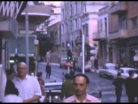 סרטון של תל אביב בשנות ה-60' בצבע מלא