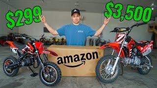Testing $300 Amazon Dirt Bike!! (It gets Destroyed)