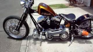 preview picture of video 'Harley Davidson Bobber, Bar Hopper El Borracho Ewa Beach, Hawaii'