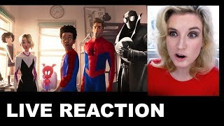 Spider-Man Into the Spider-Verse Trailer 2 REACTION