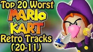 Top 20 Worst Mario Kart Retro Tracks (20-11) Ft. Nicobbq