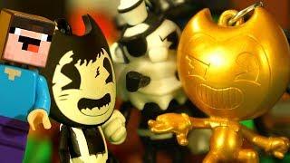 КТО ПУКНУЛ ? ЗОЛОТОЙ БЕНДИ и Лего НУБик Майнкрафт ФНАФ Мультики и Песня - LEGO Minecraft FNAF