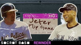 Derek Jeter's famous flip didn't end Game 3 of the 2001 ALDS, so we need a deep rewind thumbnail