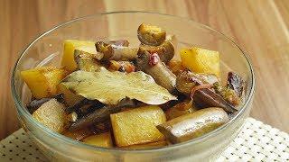 Adobong Gulay - Talong and Patatas (Eggplant & Potato Adobo) 🎧