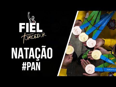 #PAN - A natação do Corinthians