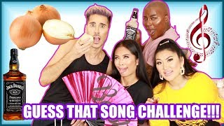 Guess That Song Challenge   DRUNK EDITION | The Plastic Boy