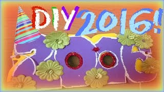 DIY 2016 Glasses New Years