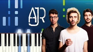 AJR - 100 Bad Days (Piano Tutorial)