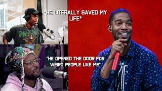 Rappers Talking About Kid Cudi (Travis Scott, Kendrick Lamar, ScHoolboy Q & More)