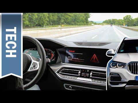 Nothalteassistent im BMW X5 im Test: Automatisches & manuelles Auslösen auf Landstraße und Autobahn