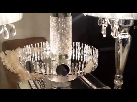 DIY Glam Mirror Tray