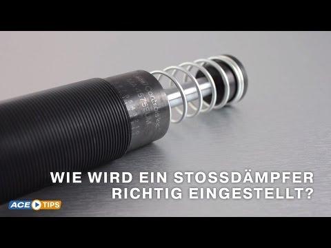 ACETips - Stoßdämpfer richtig einstellen