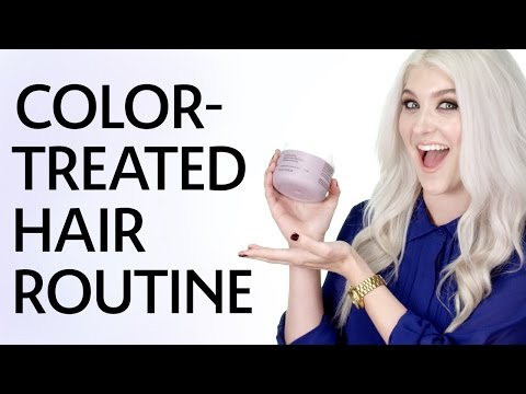 Alley's Blonde Hair Routine | Sephora