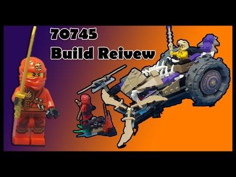 Vidéo LEGO Ninjago 70745 : Le broyeur Anacondra