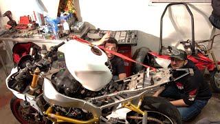 Stock To Stunt Bike Build LIVE! - FINALE Part 4