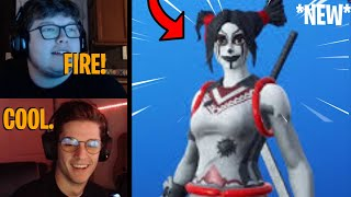 Streamers React To The *new* Style 'peekaboo' Skin!  Fortnite Highlights & Funny Moments