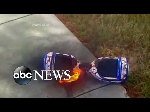 Hoverboards Catching Fire, Exploding