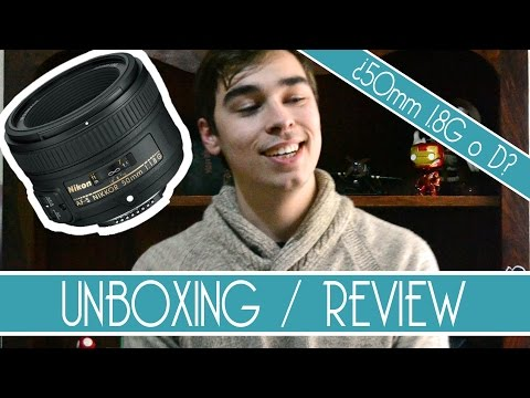 Unboxing y Review: Objetivo 50mm 1.8G o... ¿objetivo 1.8D?