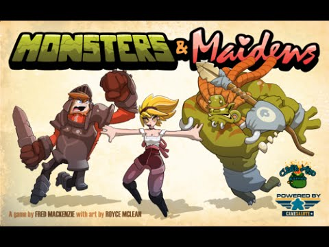 Board Game Brawl Reviews - Monsters & Maidens