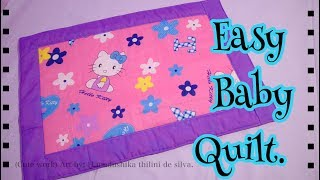 Easy Baby Quilt / How To Sew A Baby Quilt