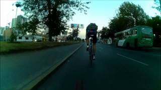 preview picture of video 'Alleycat 17 Enero 2015 Santiago Fixed Gear'